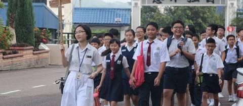 【10月6日】本校举办2019年度初中一新生编班入学考试