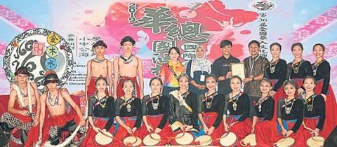 华总国油杯舞蹈赛,本校夺2金奖